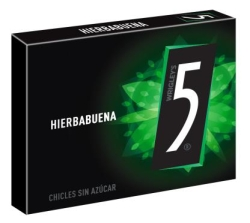 CHICLES FIVE VERDE  HIERBABUENA  10U