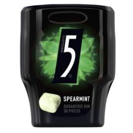 CHICLES FIVE CUBO HIERBABUENA 30 U