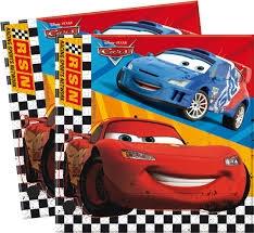 SERVILLETAS CARS 20U INVERCAS