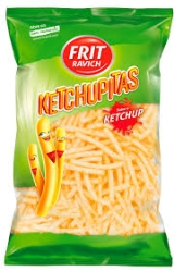 SNACKS KETCHUPITAS 130GR
