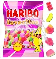 GOMITAS FAVORITOS AZ  CAR 18U HARIBO