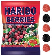 GOMITAS BERRIES 80GR HARIBO