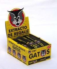 EXTRACTO REGALIZ GATO XL 85u