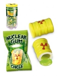 CHICLE NUCLEAR 50U FINI