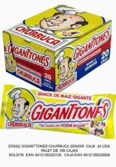GIGANTONES 20u CHURRUCA