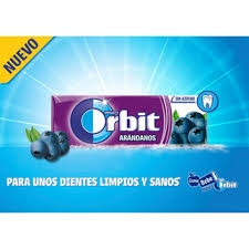 CHICLES ORBIT ARANDANOS 30U